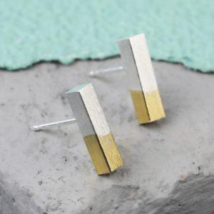 gold-dipped-silver-bar-earrings